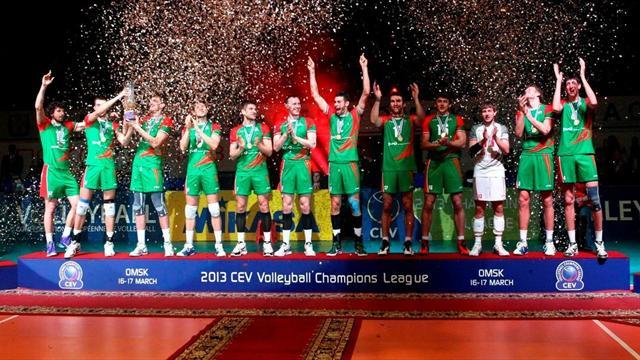 Новосибирский «Локомотив» выиграл Лигу чемпионов