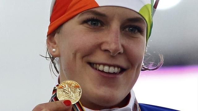 Вюст повторила рекорд по количеству наград на одной Олимпиаде