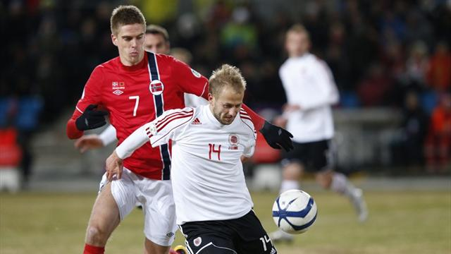 Norway stunned by Albania