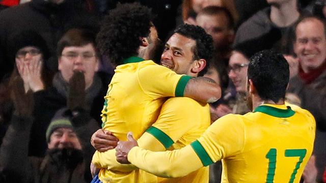Fred equaliser denies Russia win against Brazil