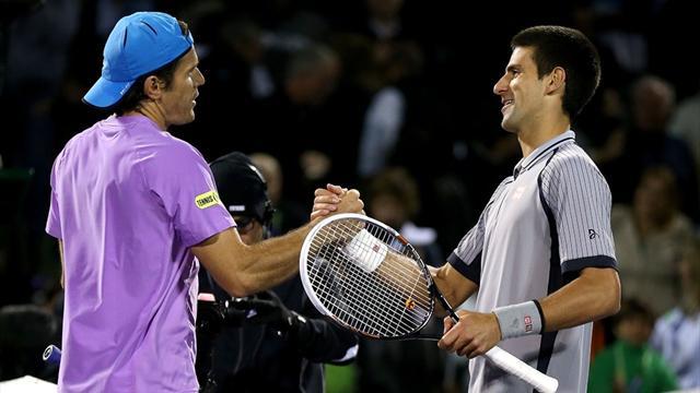 Haas stuns Djokovic, Murray through