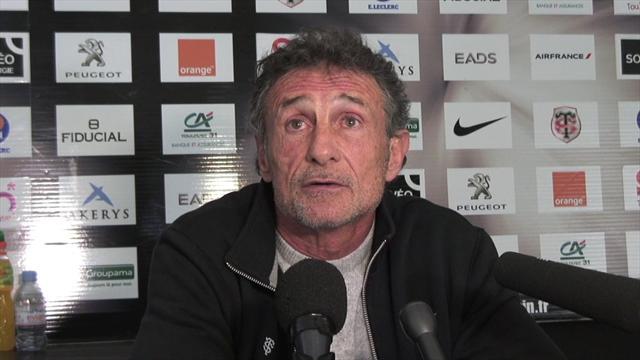 """Novès : """"Si le Stade Toulousain échoue cette saison, ce sera normal"""""""