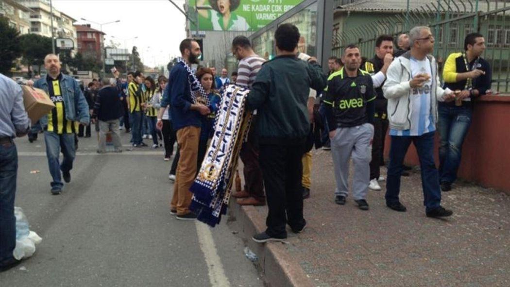 Süper Lig - Fenerbahçeli taraftarlardan Real Madrid bestesi