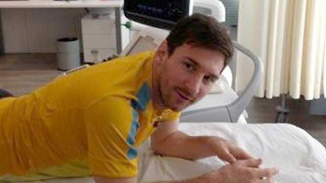 Messi : une chance sur deux de rechuter