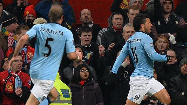 Aguero stunner seals derby win for City - Football - Premier League