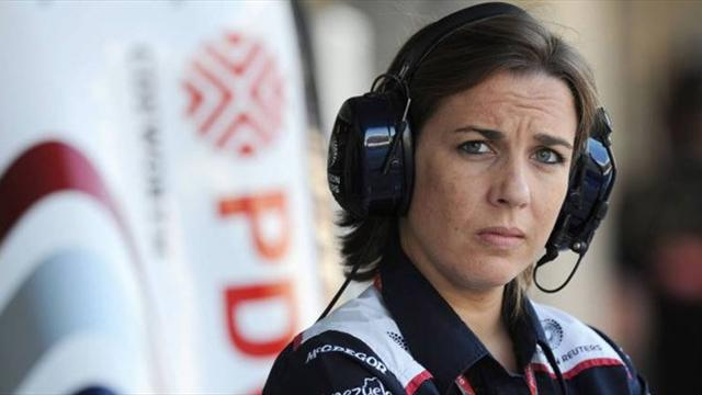 Claire Williams: 'I was very happy being a press officer'