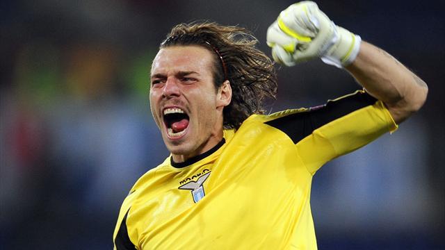 Lazio goalkeeper Federico Marchetti (Reuters)
