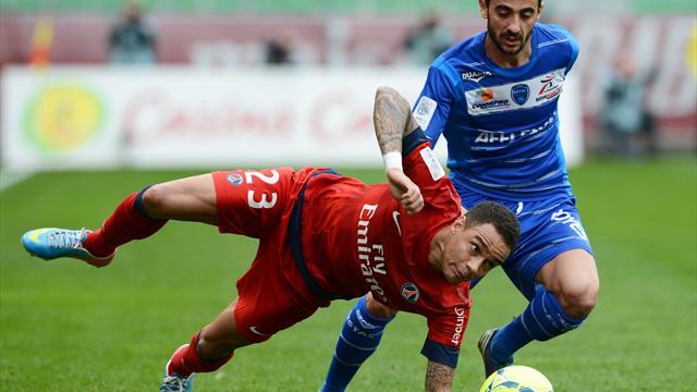 Face au PSG, Troyes a fait le poids