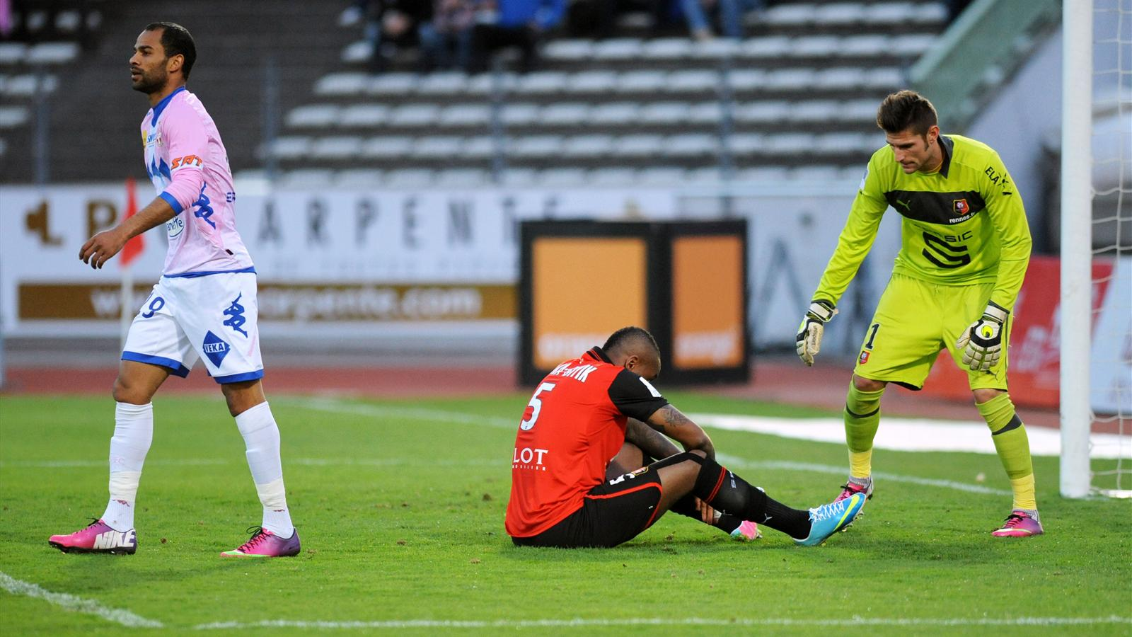 Rennes la coupe la grimace coupe de la ligue 2012 2013 football eurosport - Coupe de la ligue 2013 14 ...