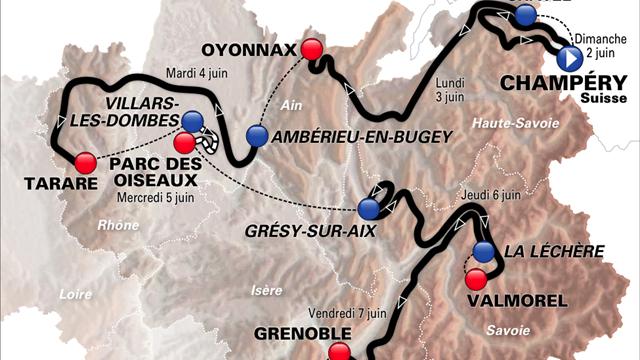 L'Alpe d'Huez en avant-première pour Contador et Froome