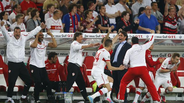 Stuttgart set up German Cup final with Bayern