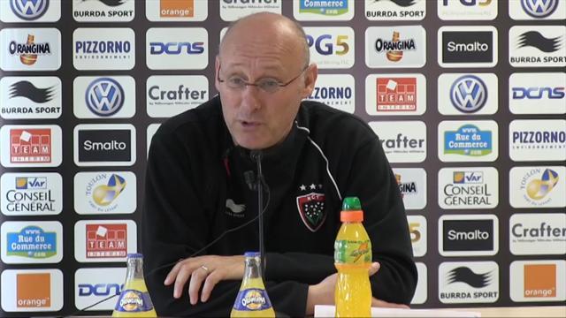 "Laporte: ""Toulon va à Grenoble pour gagner"""