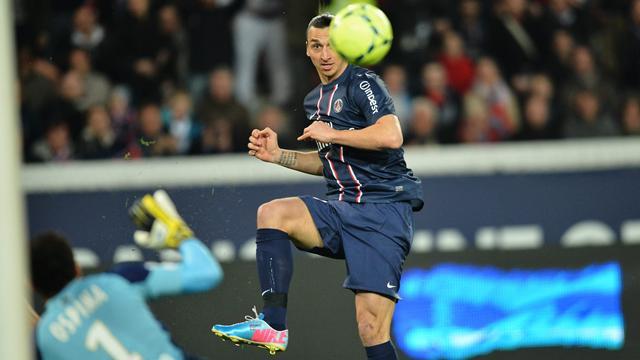 Le bon Zlatan était de sortie