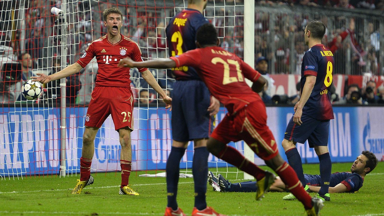 Brilliant Bayern demolish Barcelona - Eurosport