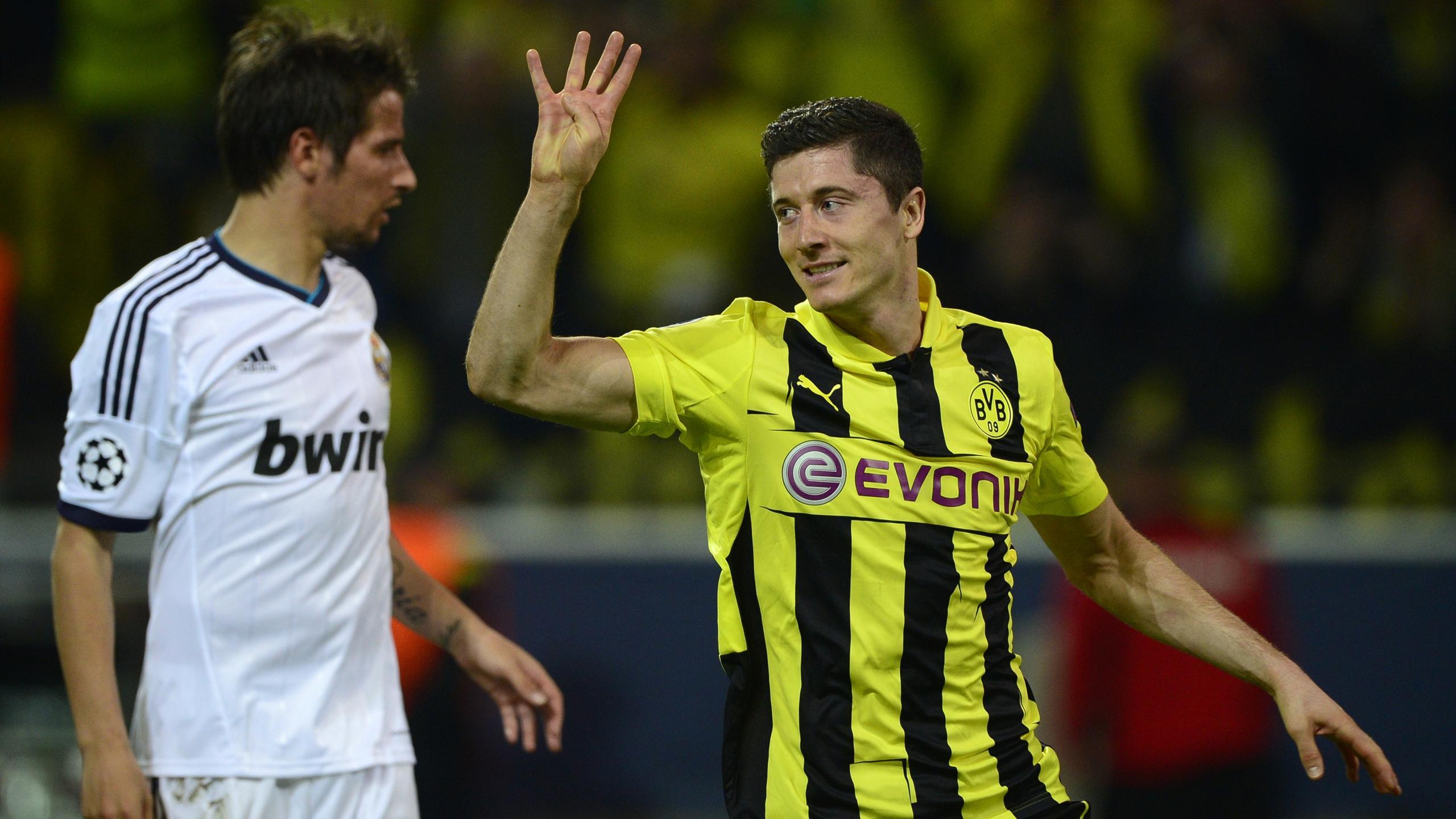 Dortmund-Real Madrid: Lewandowski aleja la Décima (4-1) - Eurosport