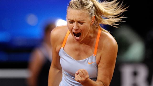 Sharapova dominant on return from injury in Brisbane