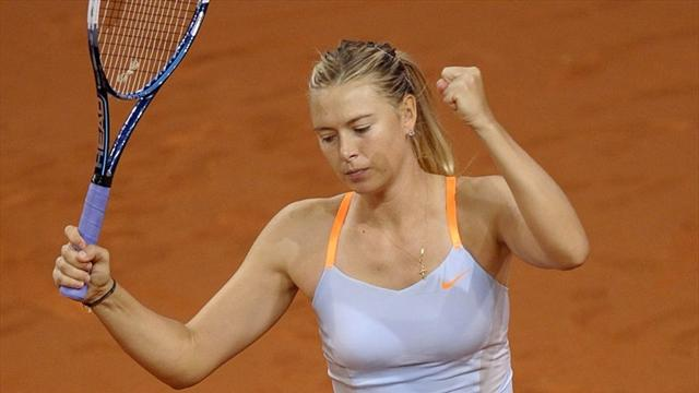 Sharapova'dan iyi başlangıç