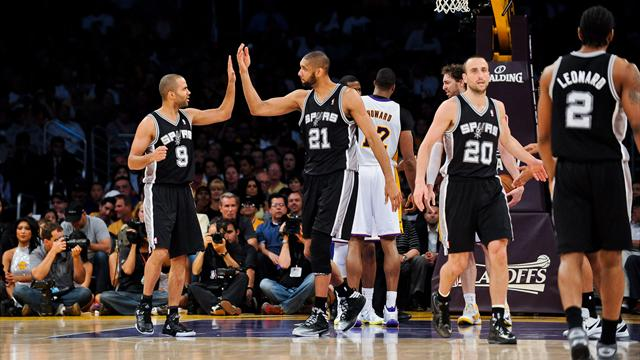 Les Spurs balayent les Lakers
