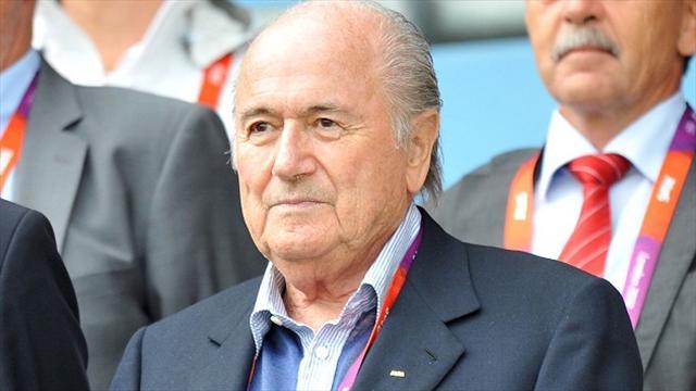 Blatter feels heat over findings