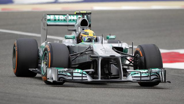 Almanya'da pole Hamilton'ın