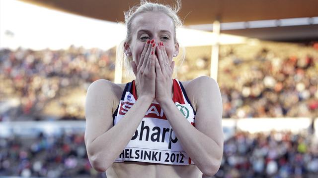 Sharp upgraded to European 800m gold after Arzhakova ban