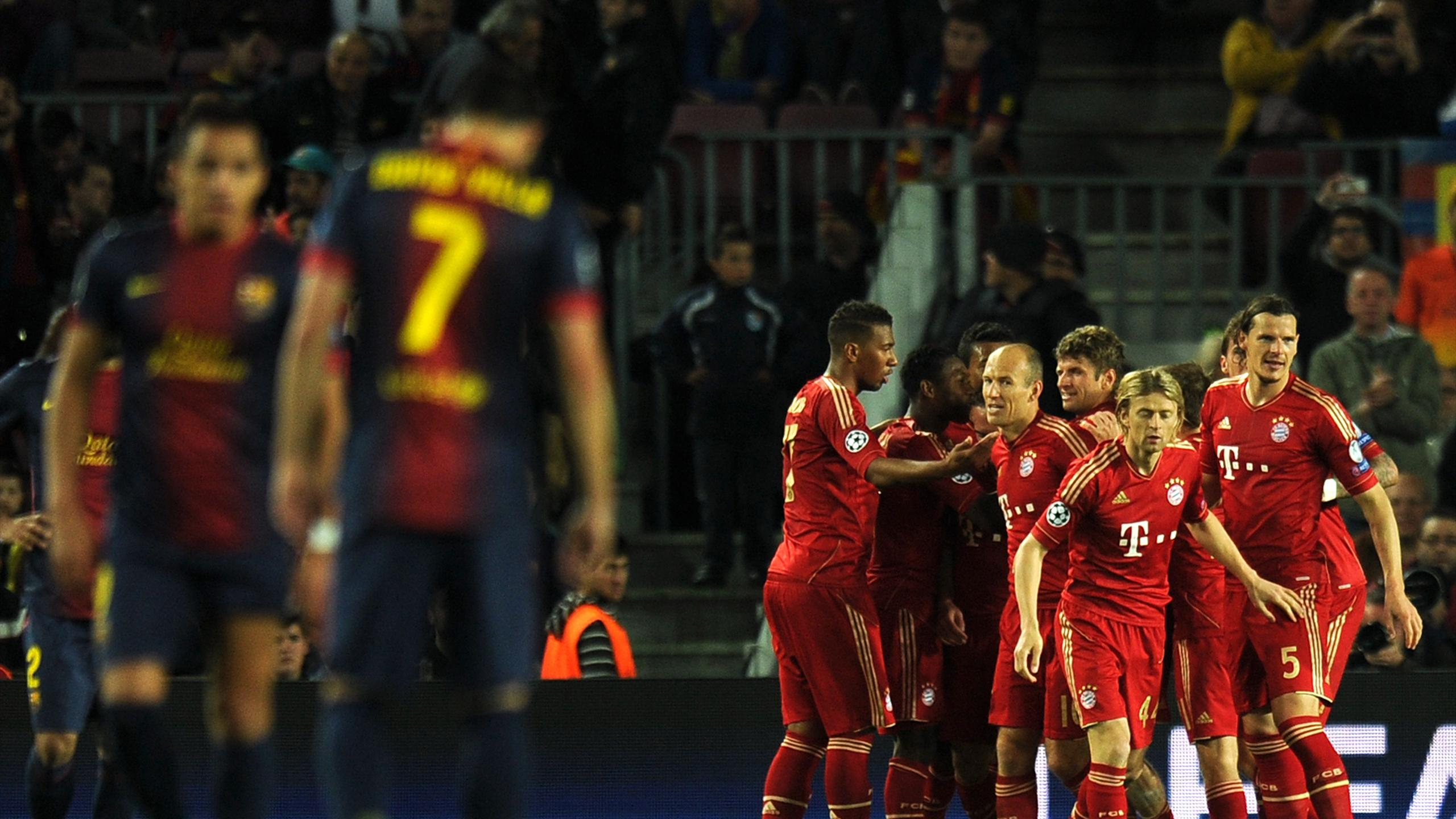 Bayern trounce Barcelona again to reach final - Champions League ...