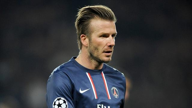David Beckham retires from football