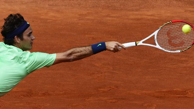 Federer a explosé en vol