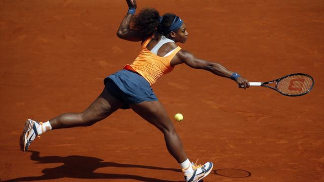Serena uçurumdan döndü