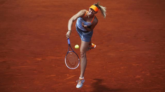 Sharapova rahat geçti
