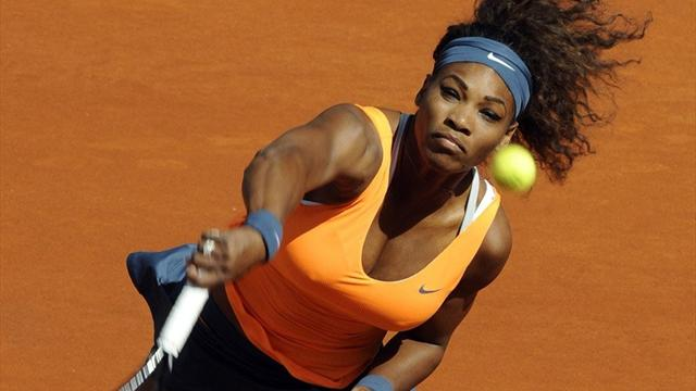 Serena Madrid'de finalde
