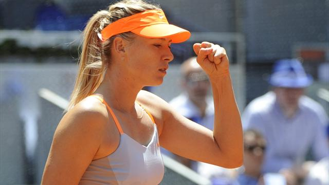 Sharapova: Şişman ve beş parasız kalırdım