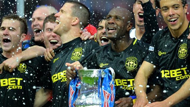 Watson winner hands unfancied Wigan FA Cup final glory against City