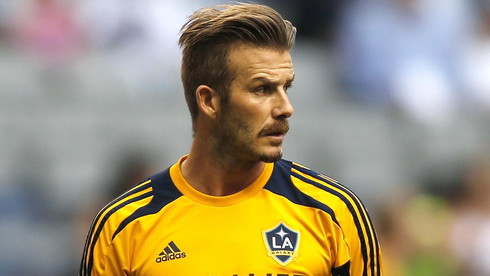 david beckham  a career in numbers - football