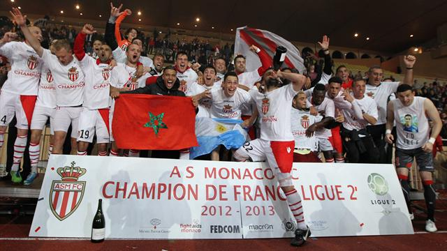 Monaco win Ligue 2 title, Nantes and Guingamp promoted