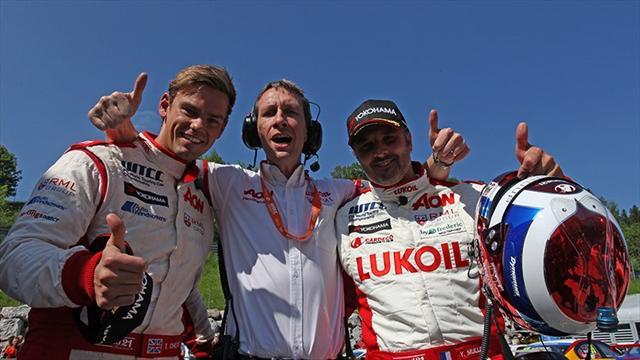 Salzburgring'de pole Muller'in