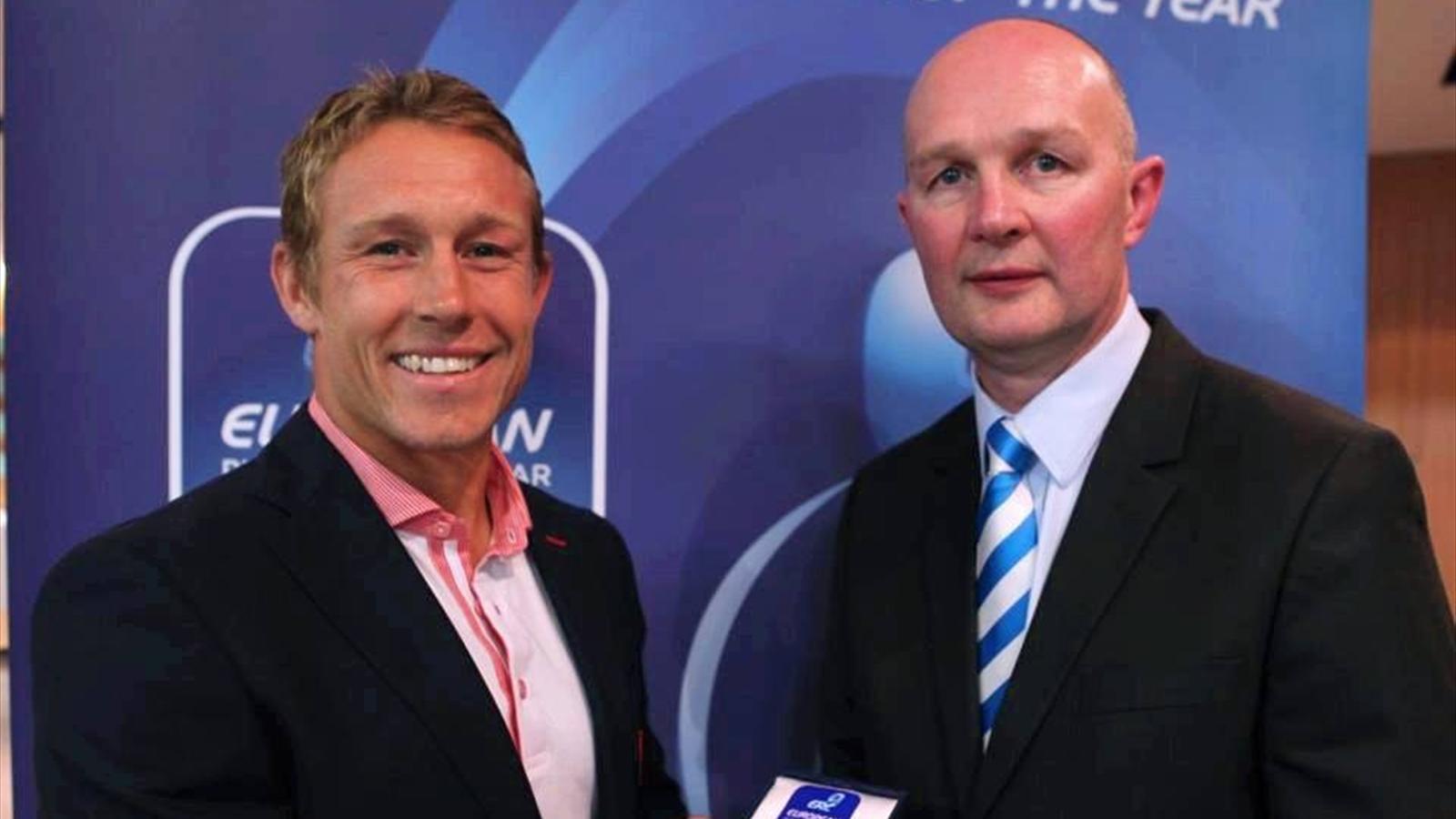 Jonny wilkinson lu meilleur joueur europ en de l 39 ann e coupe d 39 europe 2012 2013 rugby - Meilleur buteur en coupe d europe ...
