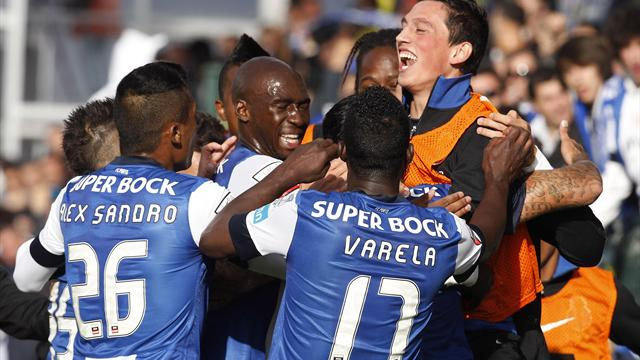 Porto claim 27th title with win at Pacos de Ferreira