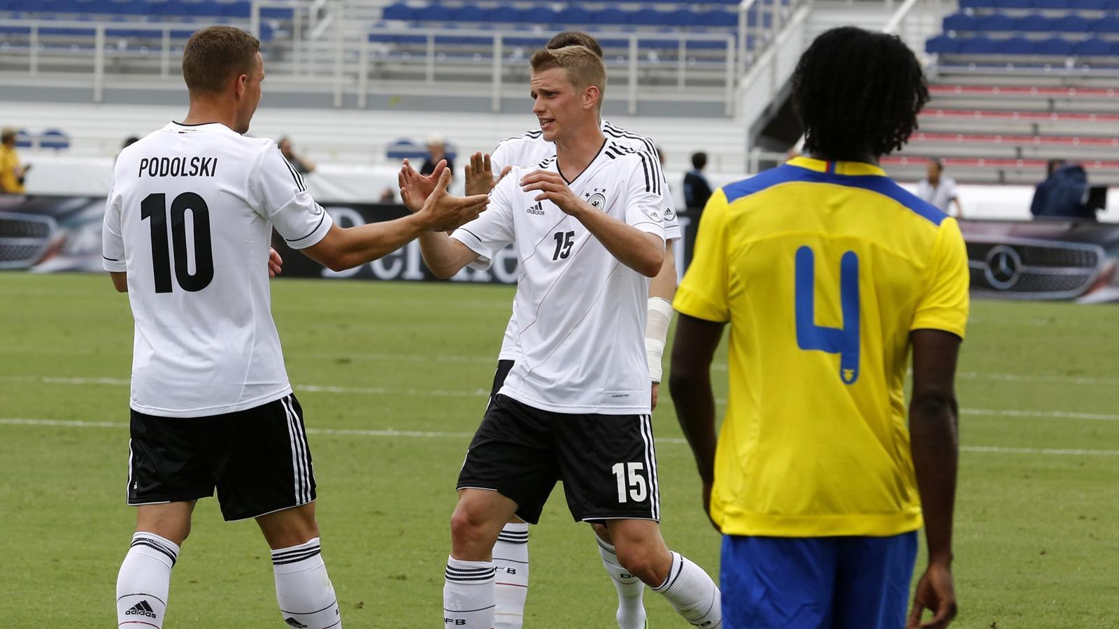 Парагвайский урок сборная германии