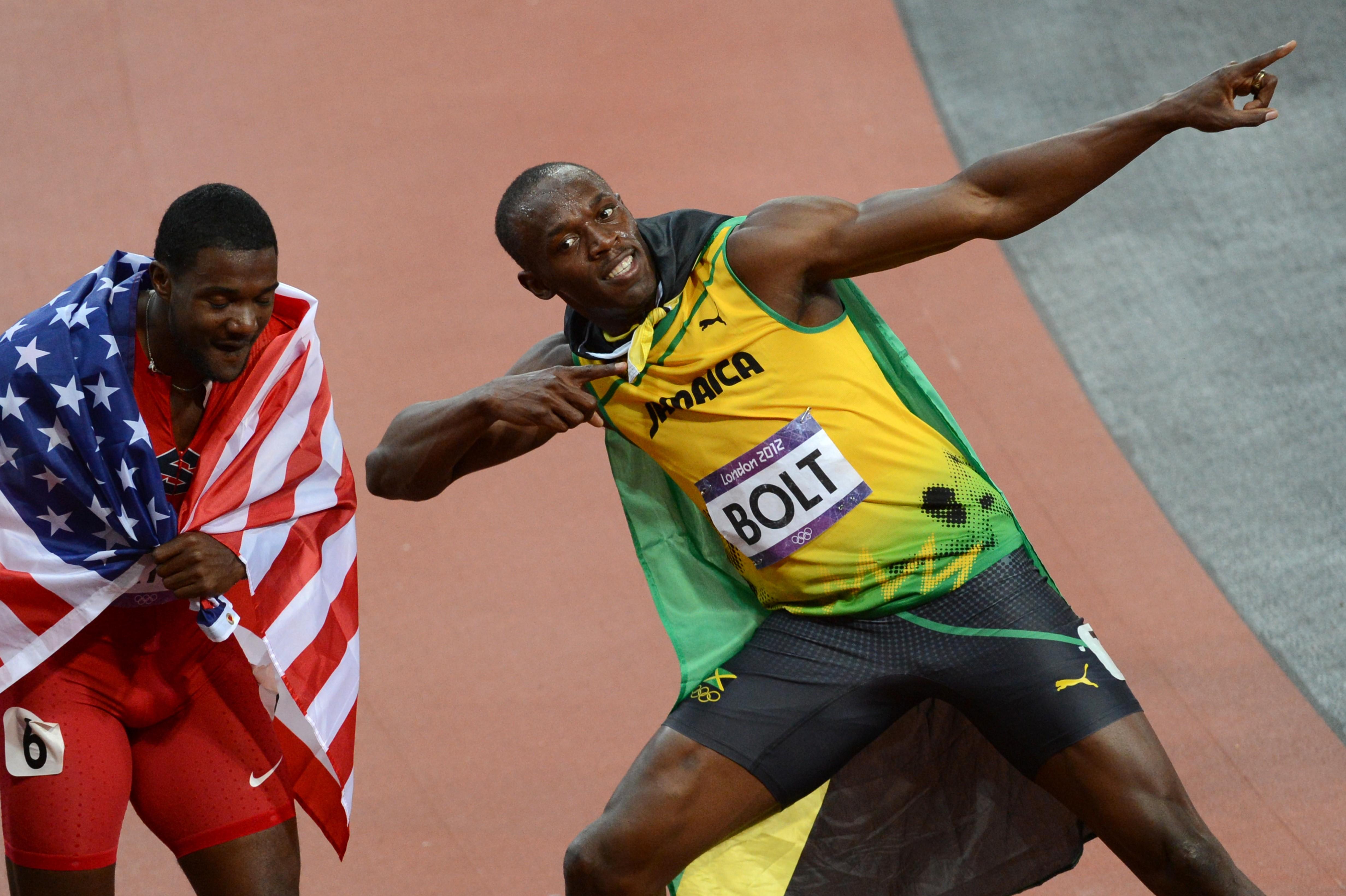 Bolt gatlin 2012