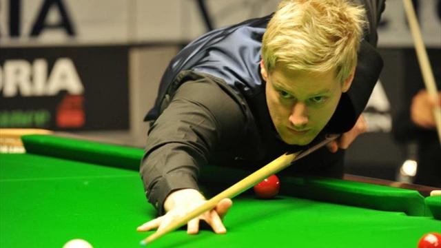 Robertson and Higgins roar into last eight at Wuxi Classic