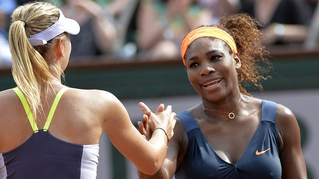 «Je ne savais pas qu'elle était aussi obsédée par moi» :  Sharapova et le syndrome Williams