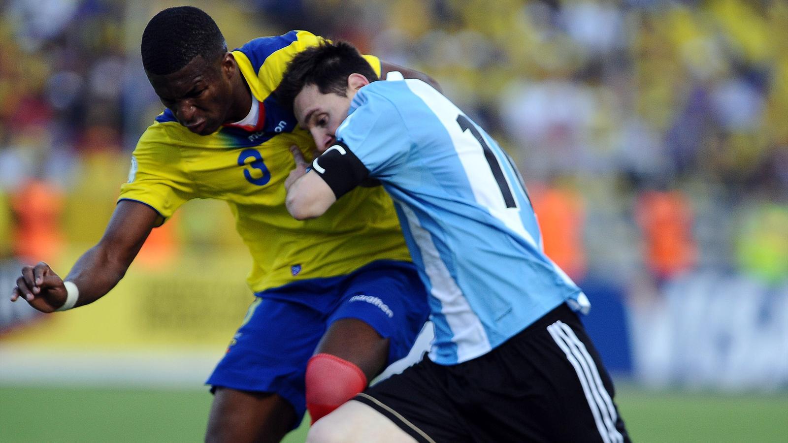 Qualifications am sud l 39 argentine et messi tout pr s du - Classement qualification coupe du monde ...
