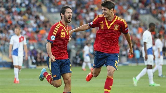 U21 Tây Ban Nha vs U21 Na Uy