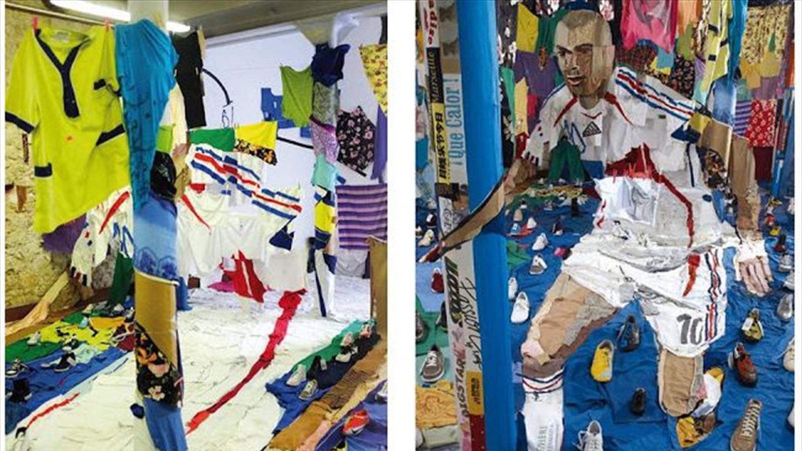Zin 233 Dine Zidane Une Oeuvre D Art 224 Marseille Omnisport