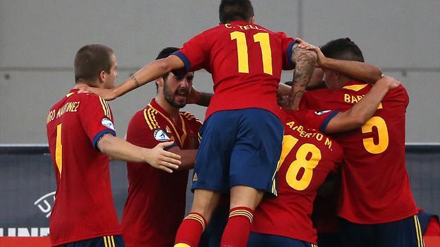 U21 Italia vs U21 Tây Ban Nha