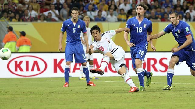 L'Italie bat le Japon, victoire du football