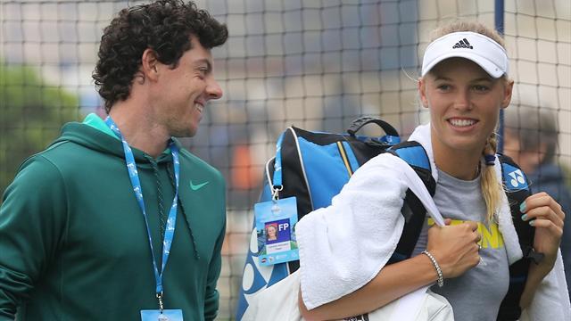 Wozniacki gets engaged to McIlroy