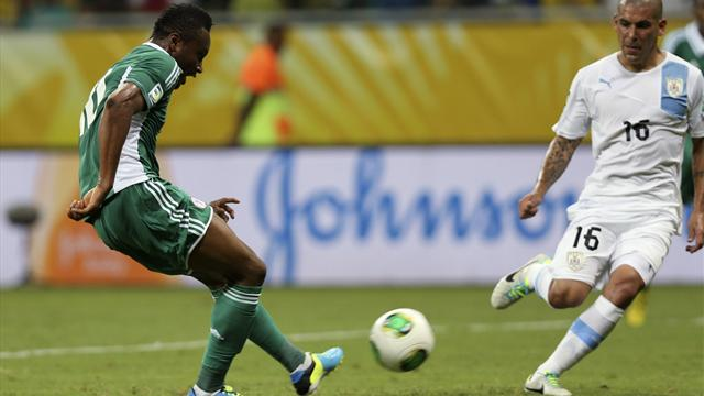 Le pagelle di Nigeria-Uruguay 1-2