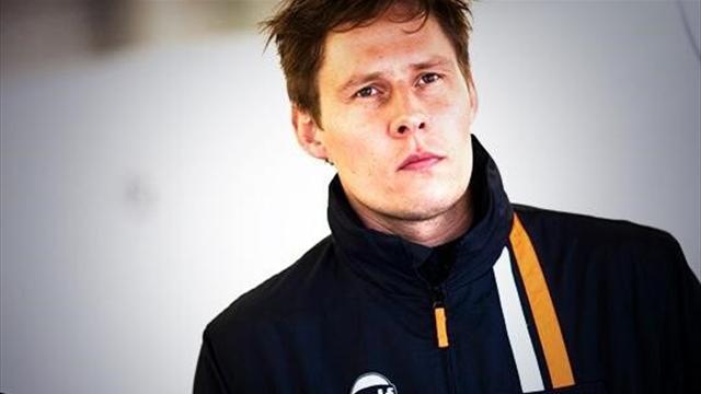 Simonsen craignait le départ et les premiers tours